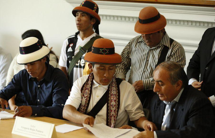 Apurímac: emprendedores de Fuerabamba rechazan a asesores legales de Gregorio Rojas