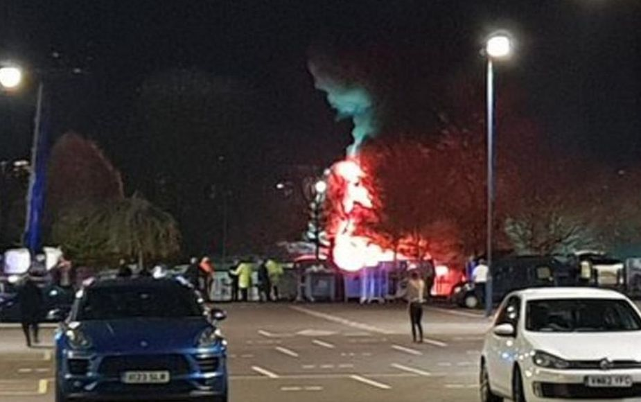 Helicóptero del dueño del Leicester City se estrelló tras salir del King Power Stadium