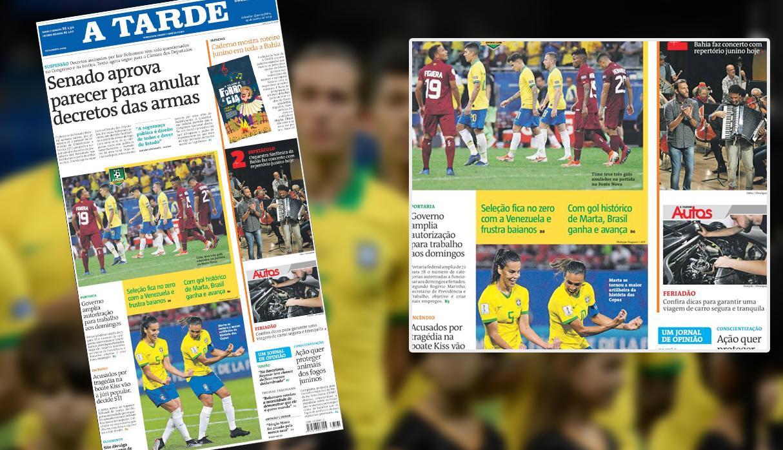 Copa América 2019: En Brasil no hablan del equipo de Tite, solo de Marta y la selección femenina | FOTOS