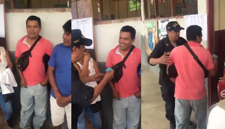 San Martín: electores hicieron sorteo para elegir tercer miembro de mesa en colegio de Tarapoto