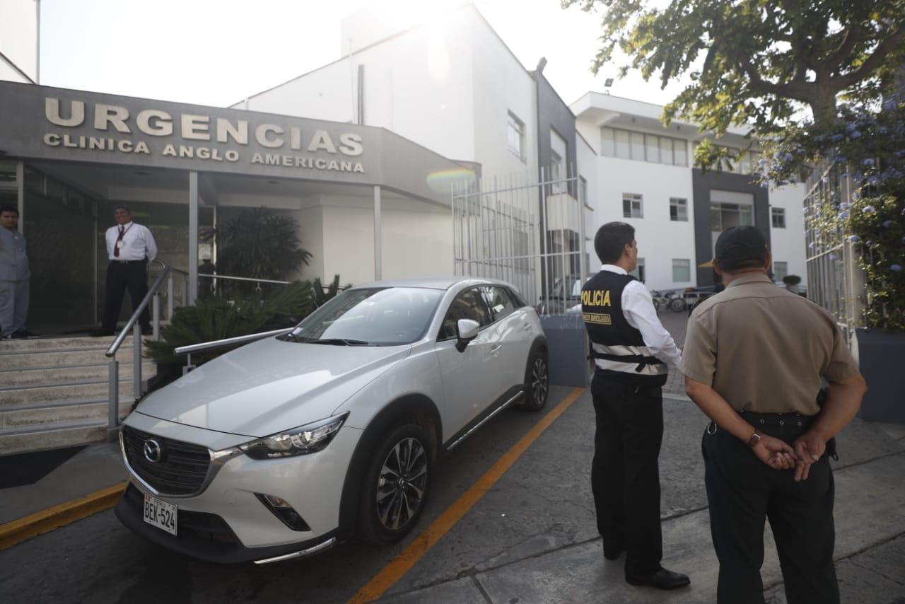 Pedro Pablo Kuczynski fue internado el 17 de abril pasado (César Campos/Perú21).