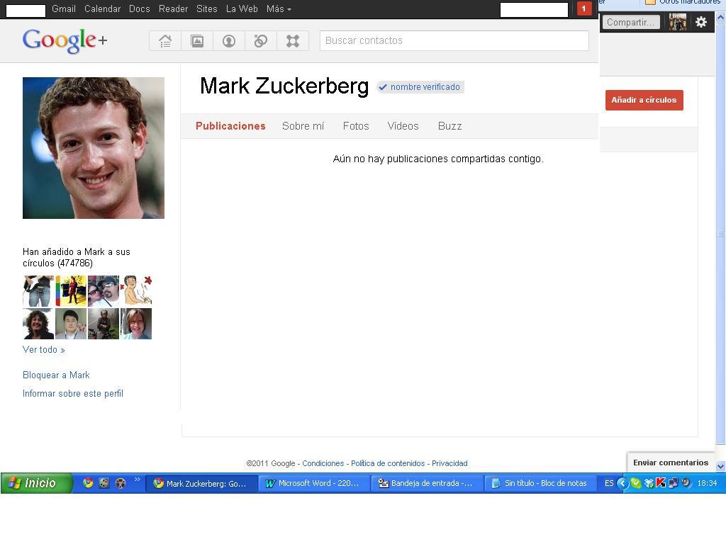 Google+ inicia verificación de usuarios