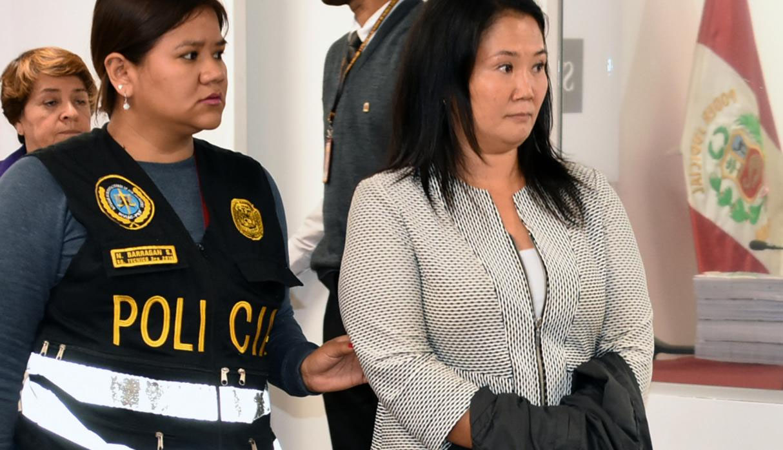 Keiko Fujimori cumple 44 años recluida en el penal Anexo de Mujeres de Chorrillos. (Foto: Poder Judicial)