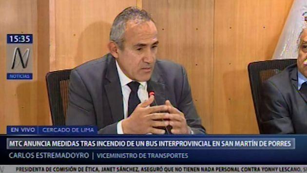 Tragedia en Fiori: MTC se pronuncia sobre habilitación del terminal local donde se incendió un bus