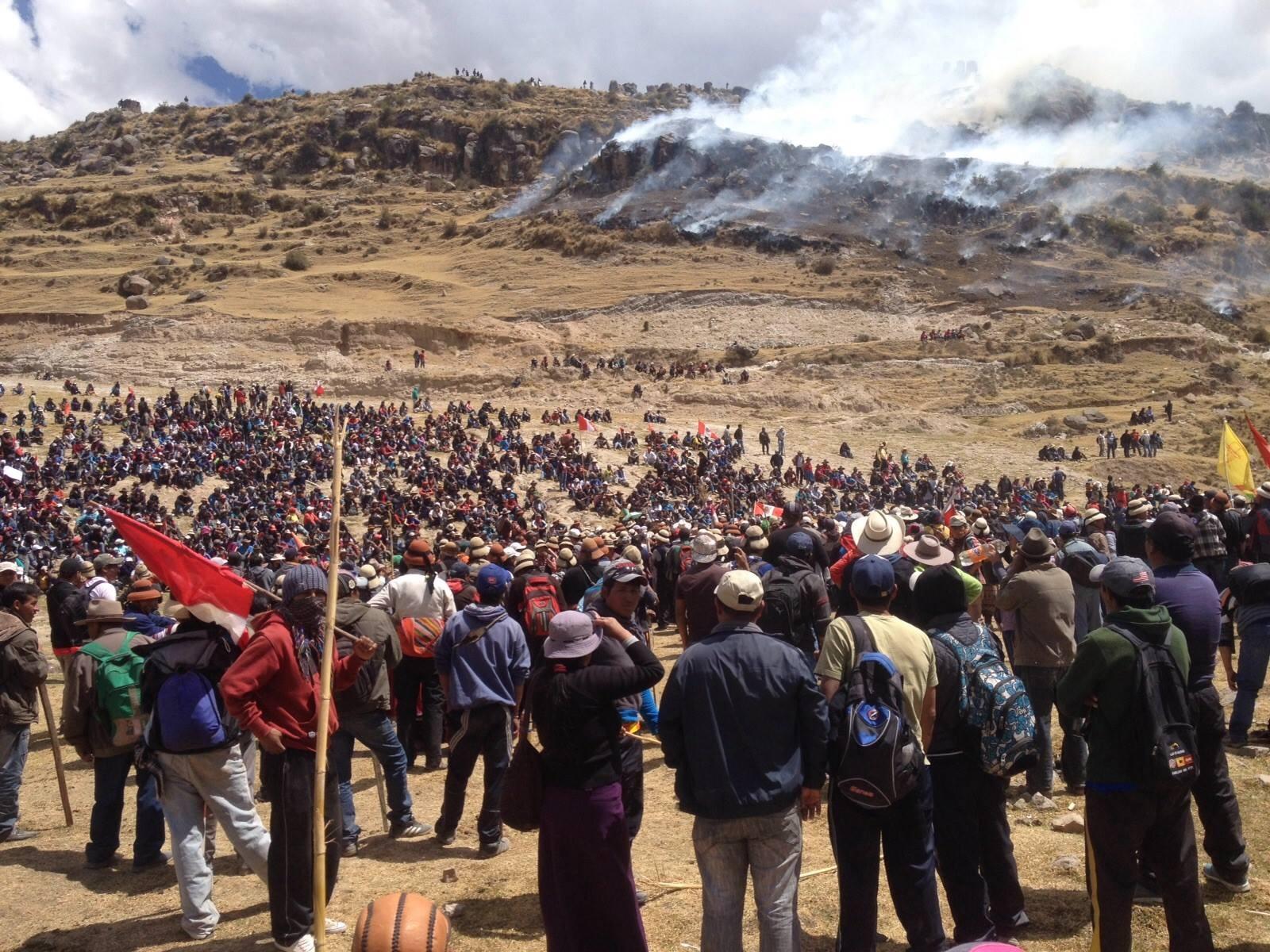 """Confiep sobre Las Bambas: """"No debería aprobarse la ley de amnistía por inconstitucional"""""""