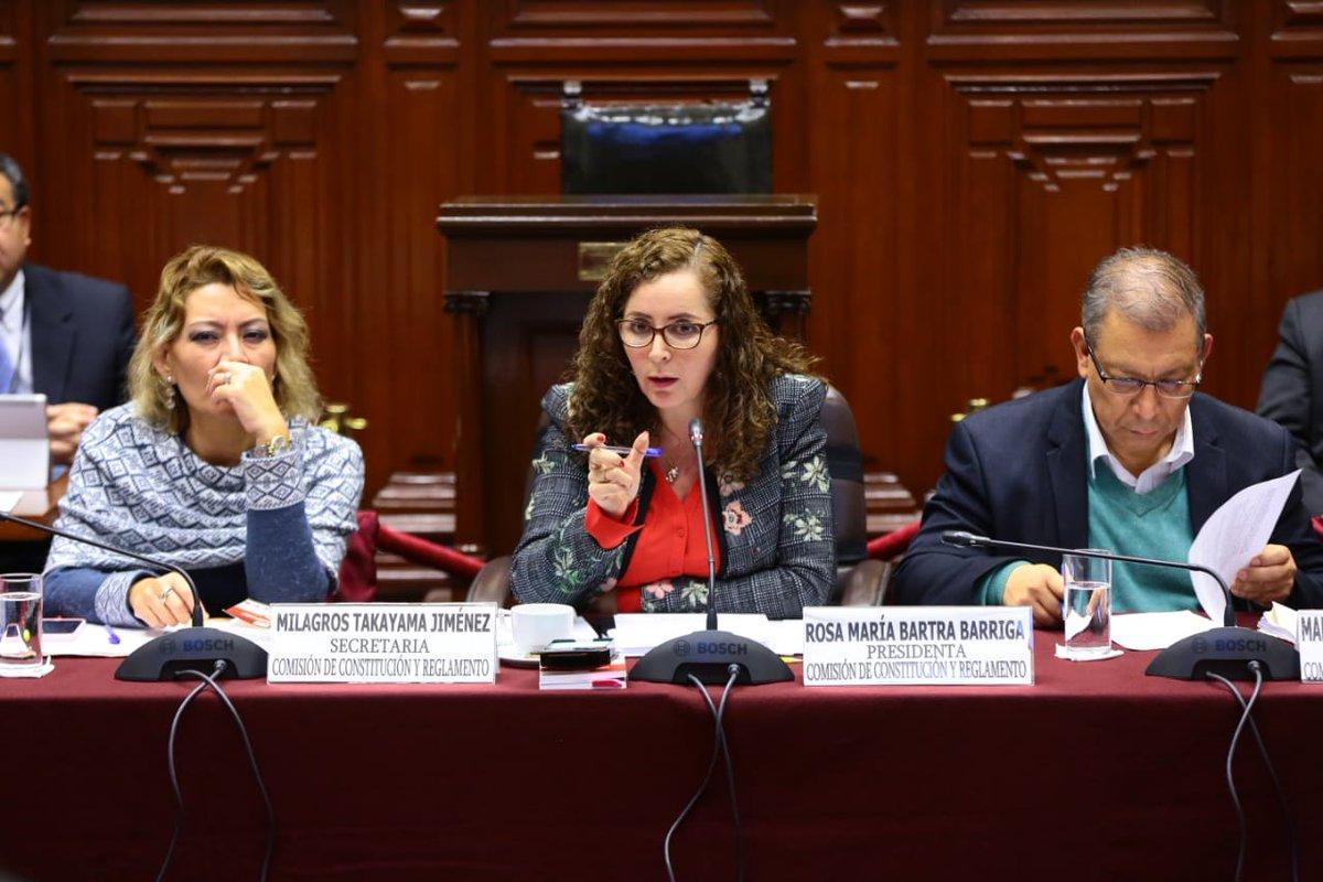 Comisión de Constitución cita a Zeballos el martes 18 para seguir debatiendo reforma