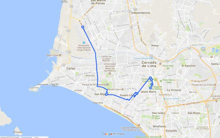 Papa Francisco: rutas y recorridos donde podrás verlo en Lima