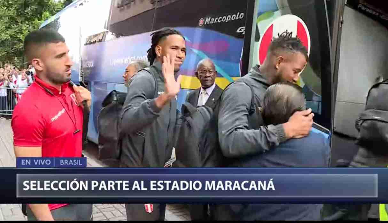 Perú vs. Brasil: bicolor dejó la concentración en medio de calurosa despedida de sus hinchas
