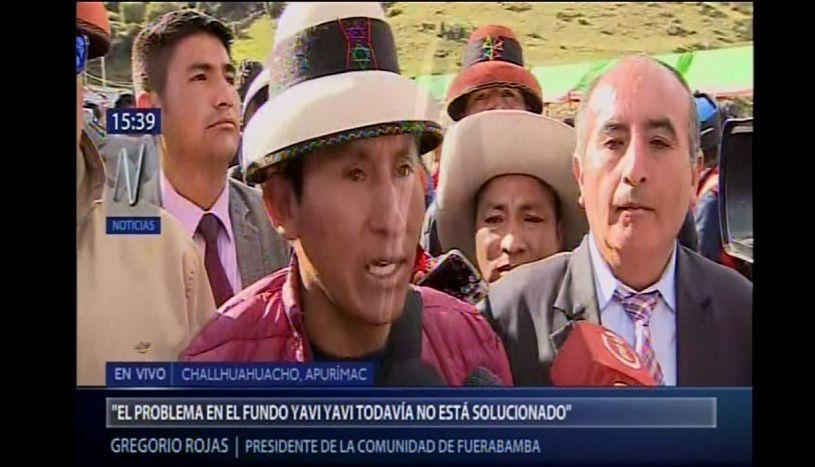"""Gregorio Rojas: """"El problema vino de Yavi Yavi y aún falta solucionar"""""""