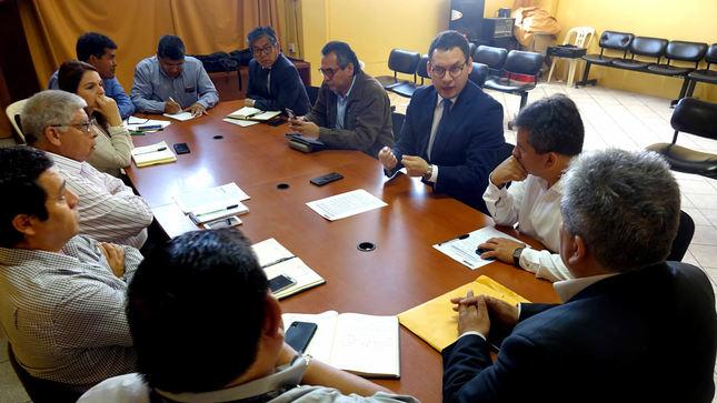 Universidad San Luis Gonzaga: conforman comisión técnica que elaborará plan de emergencia - El Comercio - Perú