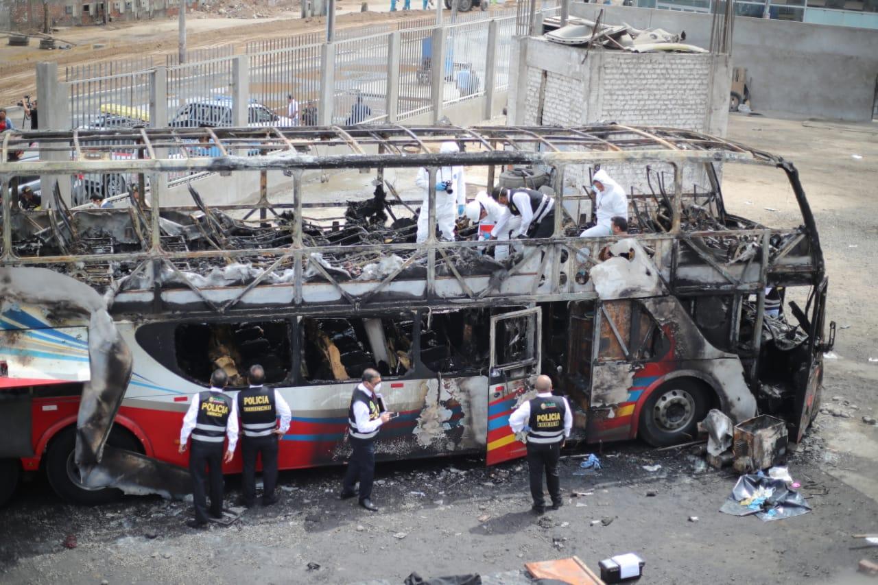 Tragedia en Fiori: empresa que realizó revisión técnica a unidad de Sajy Bus deslindó responsabilidad