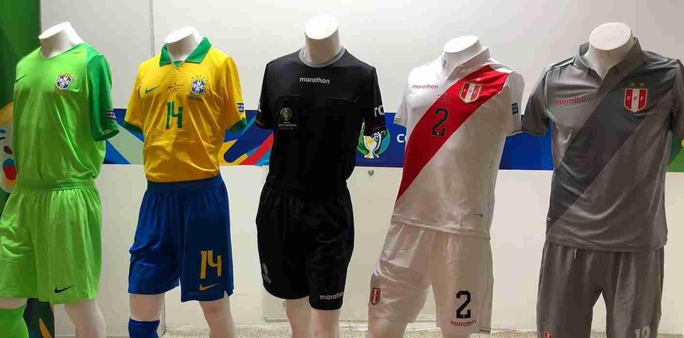 Perú vs. Brasil: listas las indumentarias para la final de la Copa América 2019