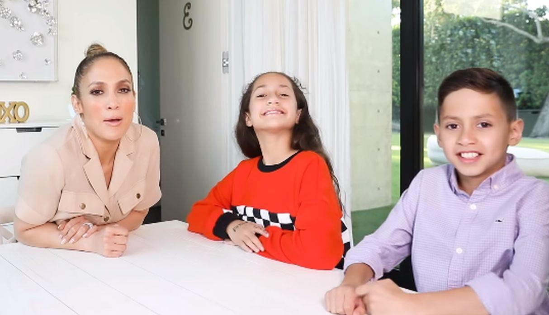 Jennifer Lopez muestra todo el amor que se tienen en su familia con tiernas fotos