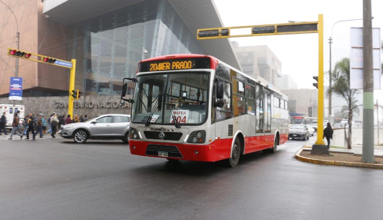 Municipalidad de Lima: este es el recorrido del nuevo servicio 204 del Corredor Rojo