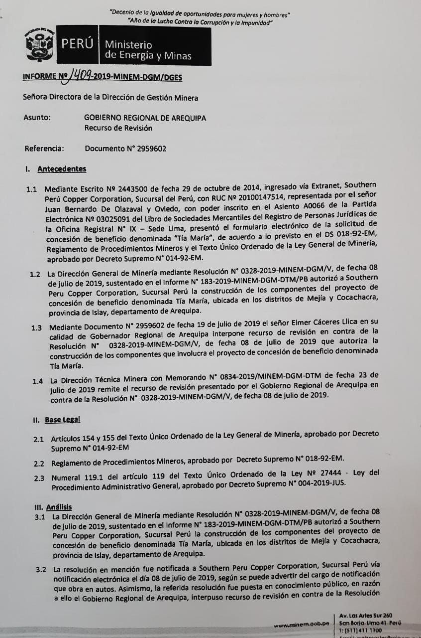 Documento Minem