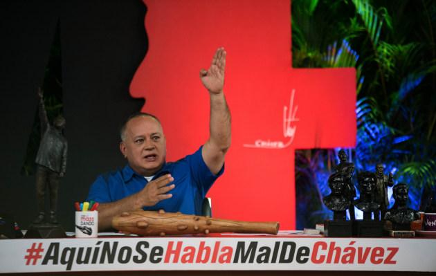 Diosdado Cabello afirma que diálogo con oposición venezolana no ha fracasado