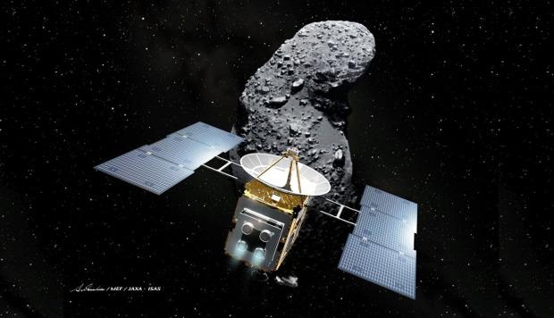 Científicos encuentran agua en muestras del asteroide Itokawa