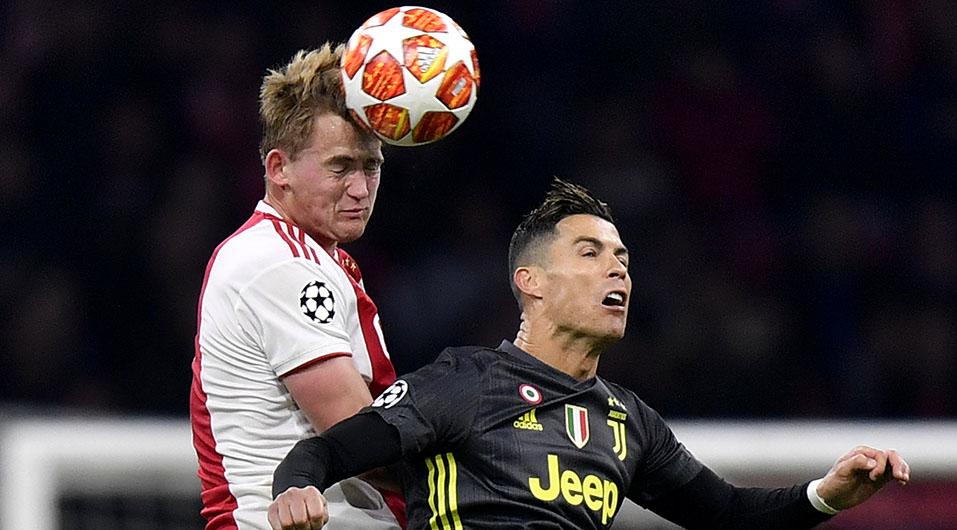 Juventus de Cristiano Ronaldo eliminado de Champions League tras caer 2-1 ante Ajax