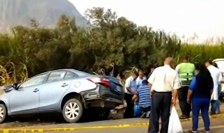 Trujillo: cuatro muertos y cinco heridos en múltiple choque vehicular