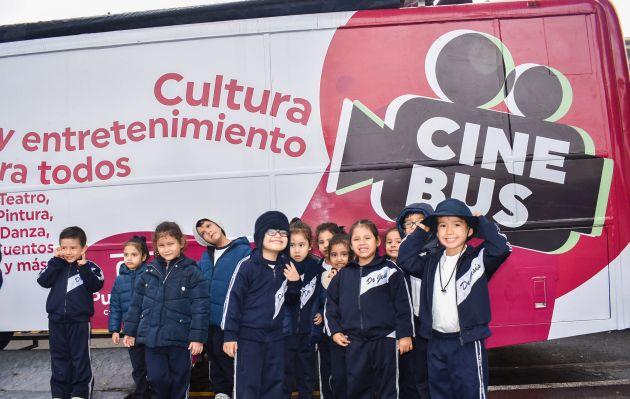 Pueblo Libre inaugura 'CineBús' que recorrerá diversos puntos del distrito