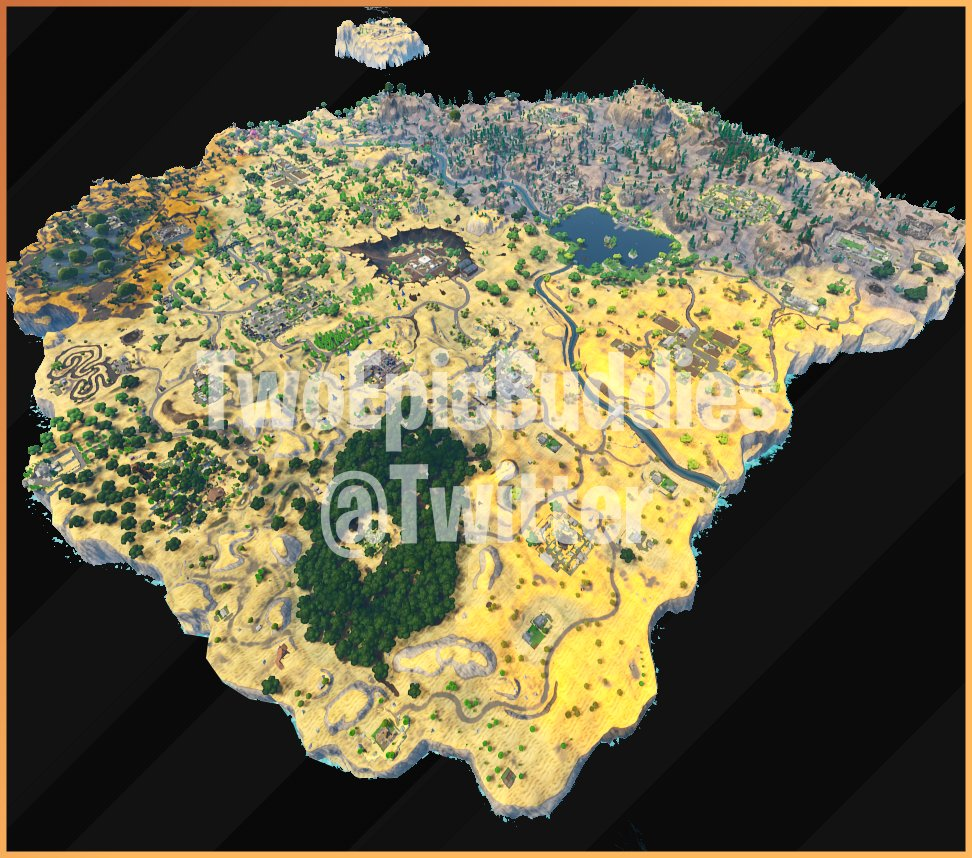 Mapa Fortnite Temporada 1.Fortnite Battle Royale Temporada 5 Las Novedades Mapa
