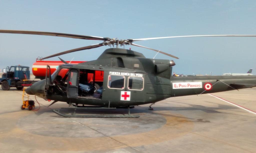 FAP apoyará en la evacuación de heridos del accidente de bus que traía delegación aprista