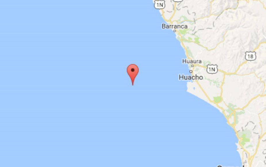Sismo de magnitud 4.9 se sintió en Lima