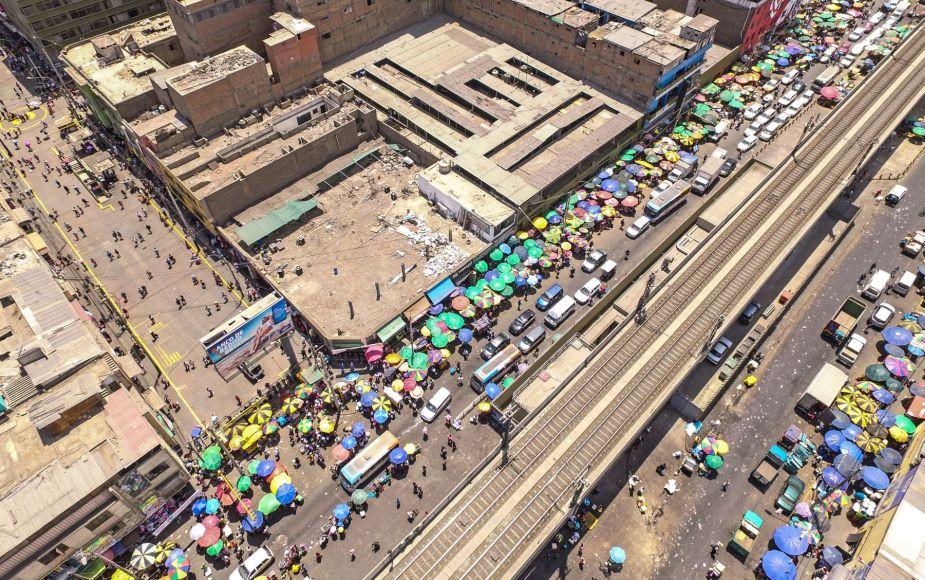 Próximo operativo contra comercio informal será en la avenida Aviación