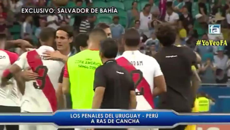Brasil 2019: el noble gesto de Edinson Cavani tras ser eliminado de Copa América