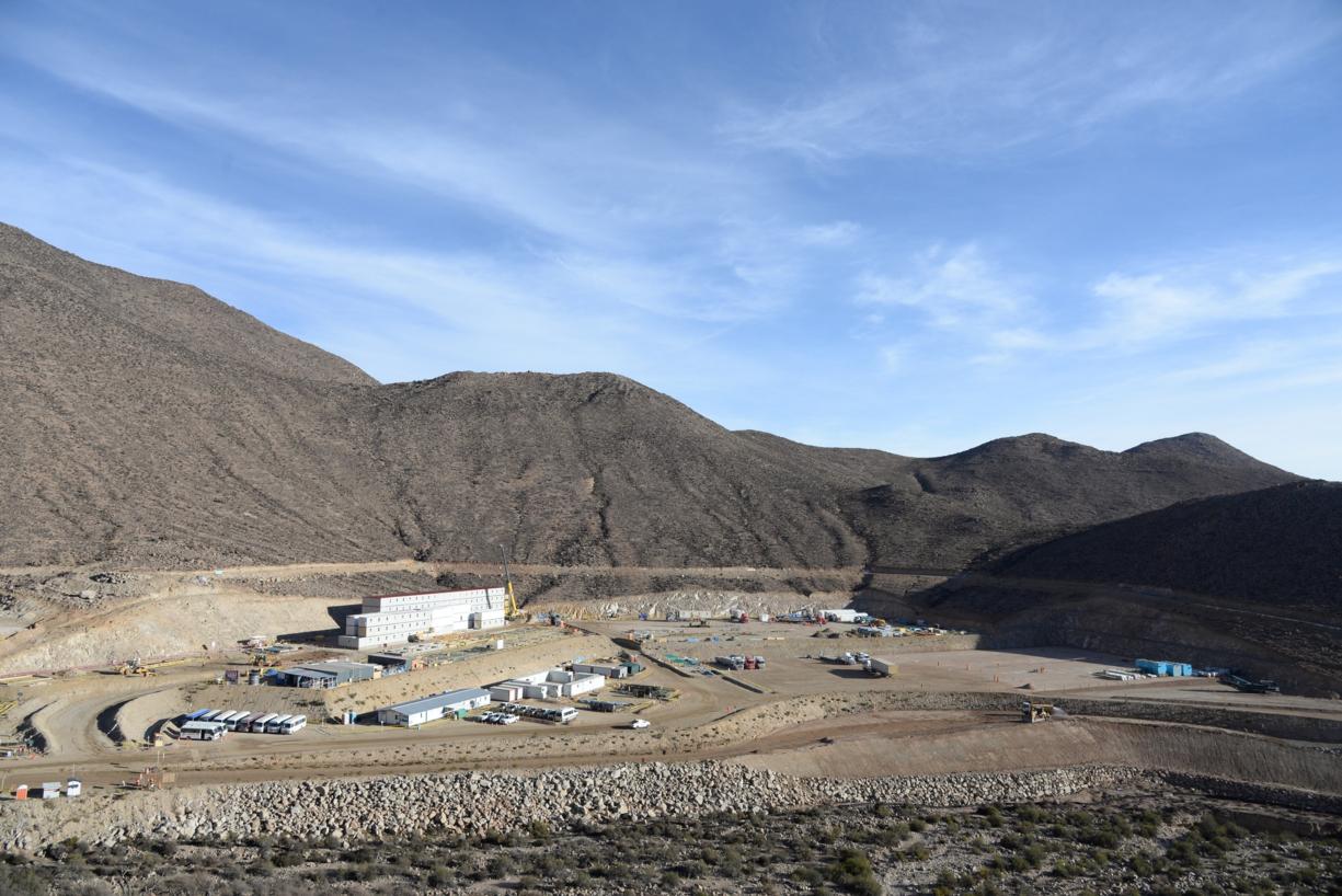 El proyecto minero de Quellaveco, en Moquegua. (Foto: GEC)