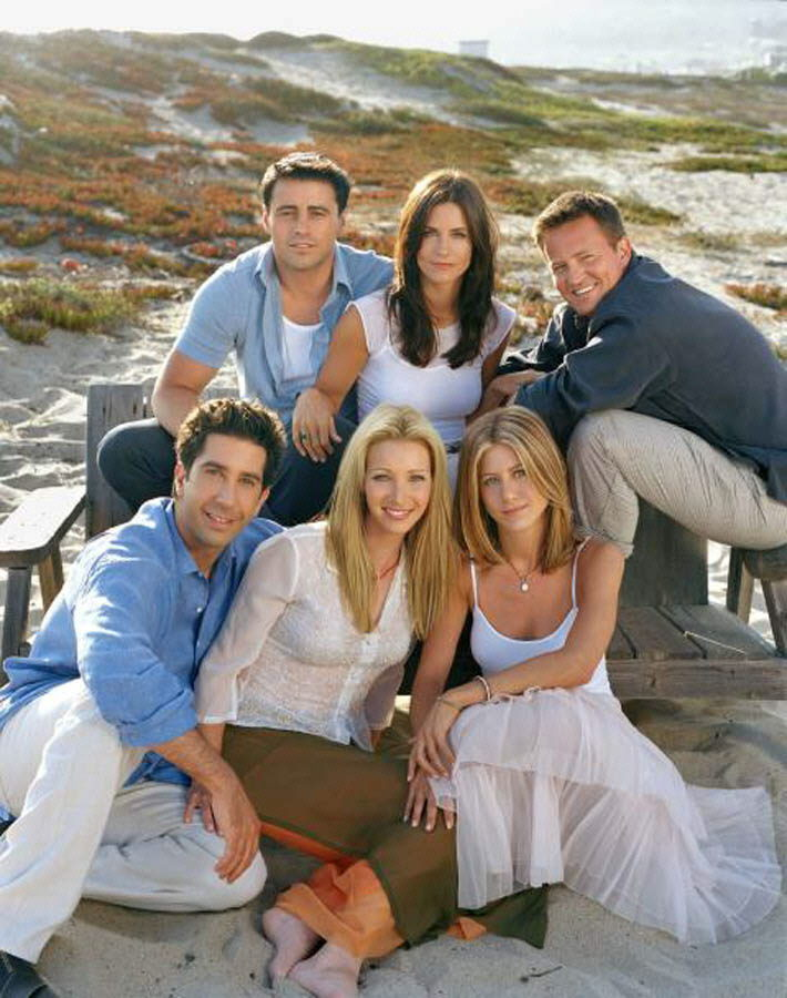 'Friends' es considerada la mejor serie de televisión de la historia