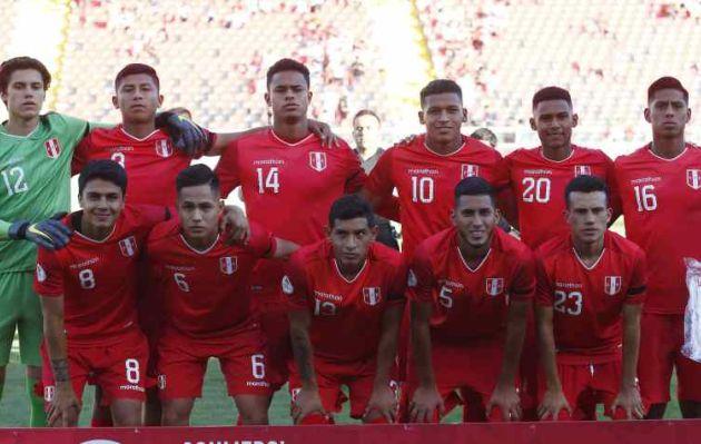 Perú cayó 3-1 ante Ecuador por el Sudamericano Sub 20
