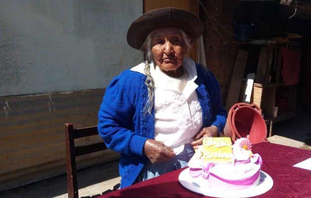 Día de la Madre: adulta mayor de 107 años de edad es la madre más longeva de Huancayo
