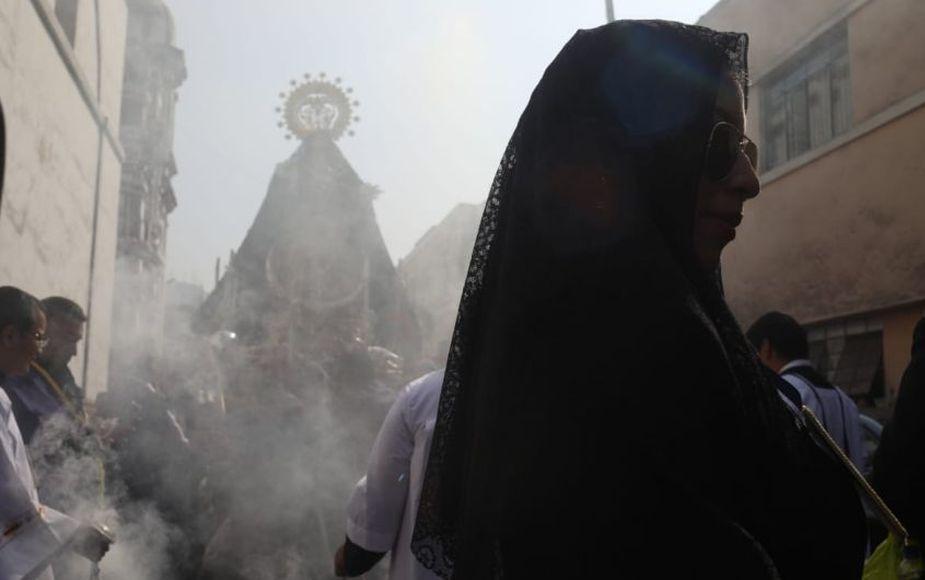 Así se llevó a cabo el domingo de Ramos en Cercado de Lima | FOTOS