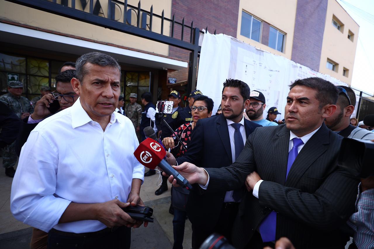 """Ollanta Humala a Alan García: """"Fuimos víctimas de chuponeo en su gobierno"""""""