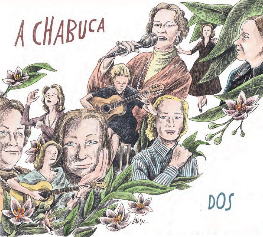 La portada del segundo disco fue creada por el conocido historietista argentino Ricardo Siri 'Liniers. (Facebook: A Chabuca)