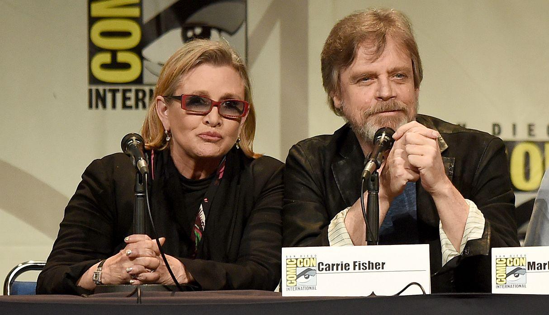 La anécdota tras la fotografía de Mark Hamill y Carrie Fisher en el rodaje de 'Star Wars Episodio VI'