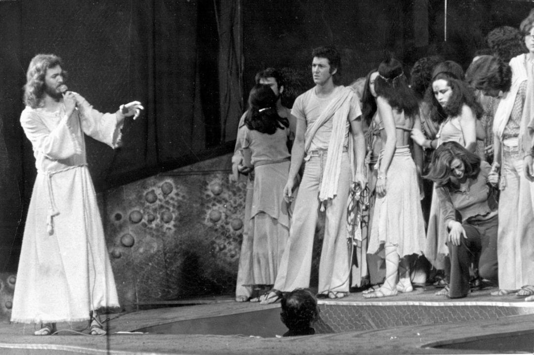 Camilo Sesto estrenó en Madrid Jesucristo Supestar, una adaptación de la obra de Andrew Lloyd Webber, la única que estaba a la altura del musical original, según el autor. (Foto: Cadena SER)