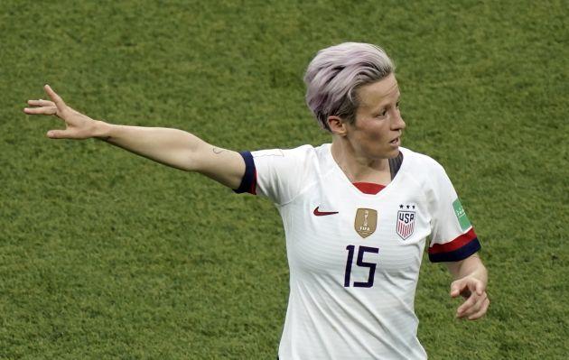 Megan Rapinoe critica que la Copa América termine el mismo día que el Mundial Femenino