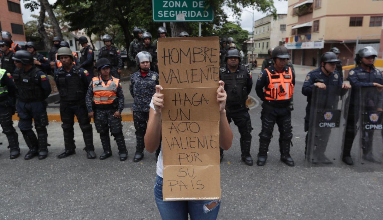 Así se desarrolla la marcha opositora al régimen de Maduro en Venezuela | FOTOS