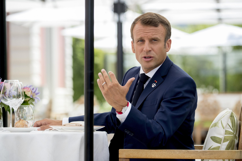 Macron considera la posibilidad de no ratificar el acuerdo comercial con el Mercosur por los incendios en la Amazonía. (Foto: AP)