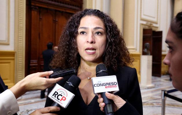 Brasil 2019: el blooper de la congresista Cecilia Chacón al felicitar a Perú por llegar a la final