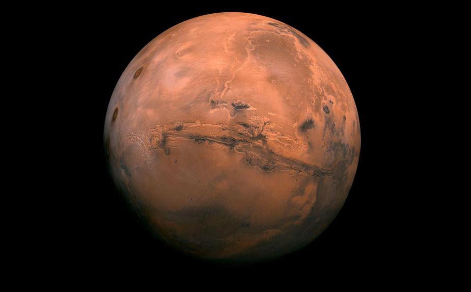 Esta noche Marte estará en su punto más cercano a la Tierra