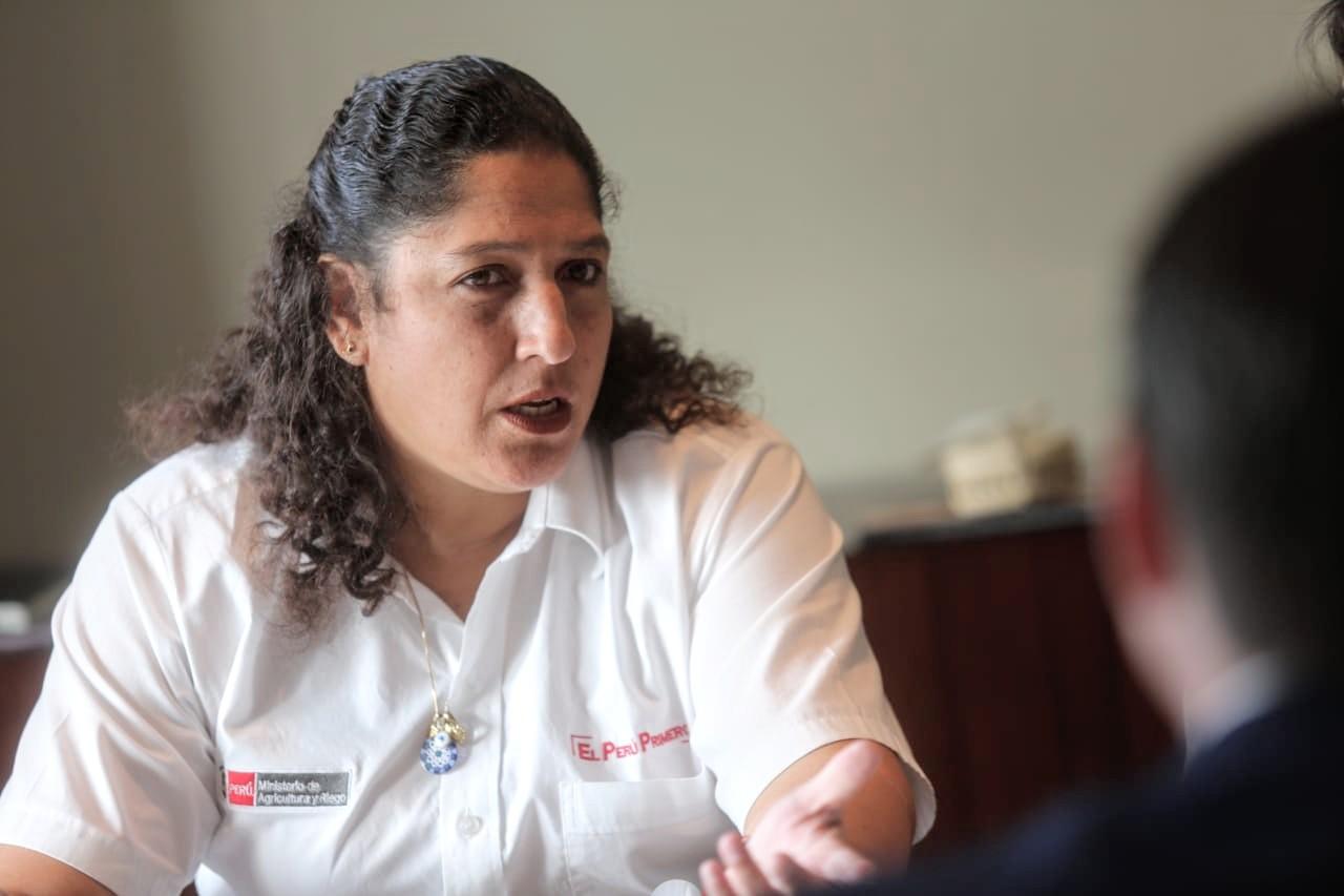 Violeta critica a ministra Muñoz por haber trabajado en Quellaveco y ahora integrar mesa de diálogo