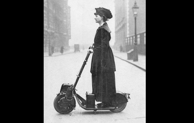Autoped, conoce al padre de los scooters eléctricos de hoy