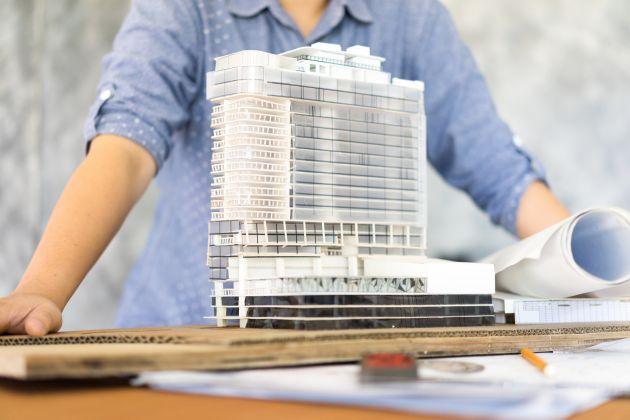 'Arquitecto y Cliente', por Jorge Sánchez Herrera