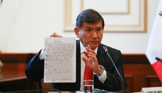 Carlos Morán sobre renuncia de Villanueva a la PCM: 'Es una decisión personal'