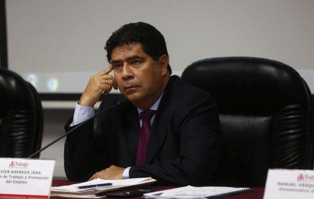 Ex ministro de Trabajo Javier Barreda falleció a los 52 años a causa de un infarto