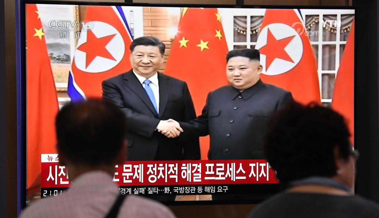Xi dice que ayudará a Pyongyang a afrontar sus preocupaciones sobre seguridad | FOTOS