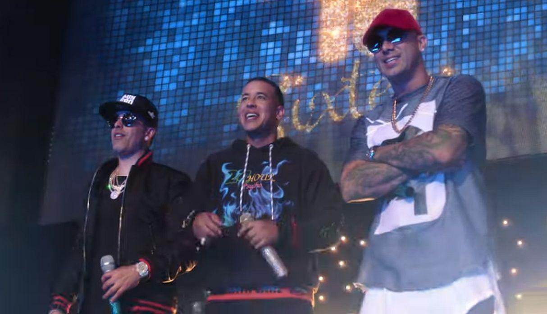 Daddy Yankee se unió a Wisin y Yandel para lanzar su nuevo tema 'Si Supieras'   FOTOS Y VIDEO